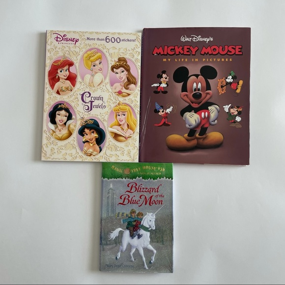 Blizzard of the Blue Moon and Disney Books